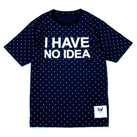Mark Mcnairy - I HAVE NO IDEA TEE for Heather Grey Wall [NAVY]