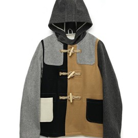 24oz SHORT DUFFLE COAT