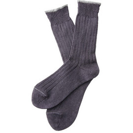 MARGARET HOWELL - Linen Rib Socks - Margaret Howell