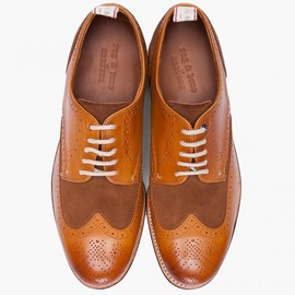 Grenson for Rag & Bone - Wingtip Brogue Shoes