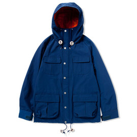 CASH CA - mountain parca (NAVY)