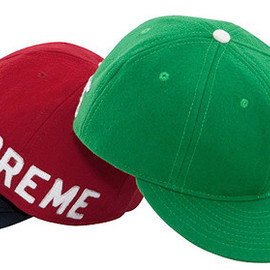 Supreme, Ebbets Field - Back Hit Ebbets Fitted Cap