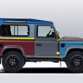 Land Rover - Paul Smith x Land Rover Defender