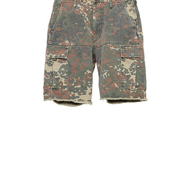 NADA. - German camo cargo shorts