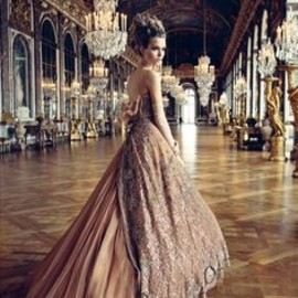 Patrick Demarchelier - Josephine Skriver, in Christian Dior Haute Couture shot   in Versailles