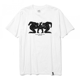 HUF - HUF×Cleon Peterson / ロゴ Tシャツ ②