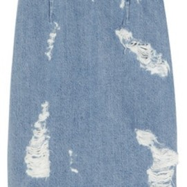 Acne - denim pencil skirt