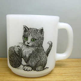 Glass Bake - Cat Mug