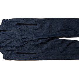 ENGINEERED GARMENTS - Overalls-8oz Denim-Dk.Indigo