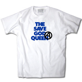 INDUSTRIAL SUITE - THE SAVE GOD QUEEN TEE【WHITE】