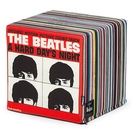 Woouf! - Vinyl (The Beatles record collection bean bag chair)