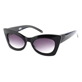 ASOS - Image 1 of ASOS Solid Black Cat Eye Sunglasses