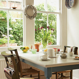 bright dining room from HH magazine