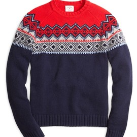 Brooks Brothers - Fair Isle Crewneck Sweater