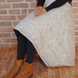 HEMING'S - PLUME BLANKET (KNIT)