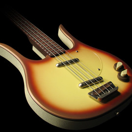 DANELECTRO - LONG HORN BASS Copper Burst