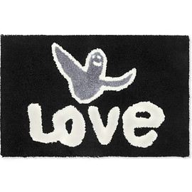 SECOND LAB - Black Gonz Love Rug