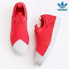 adidas - adidas Originals SUPERSTAR SlipOn W/Core Pink
