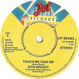 Rita Wright - Love Is All You Need / Touch Me Take Me