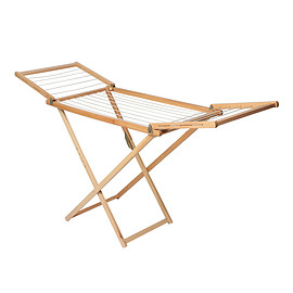 VALDOMO - WODDEN CLOTHES RACK BEECH