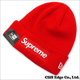 SUPREME - New Era Box Logo Beanie