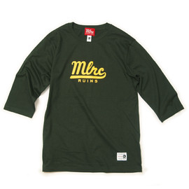 "MILLION RACE - H/S TEE ""MLRC RUINS""(Green)"