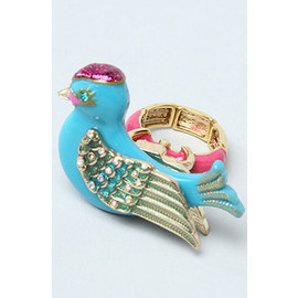 BETSEY JOHNSON - The Bird Crystal Ring