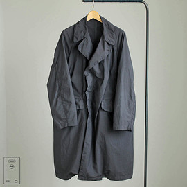 TEATORA - Device Coat [packable] #carbon gray