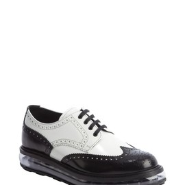 Prada - Clear sole wingtips