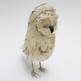 Abigail Brown - Image of Ponsenby Owl - CREAM