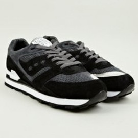White Mountaineering, Saucony - Men's Black Courageous Sneakers