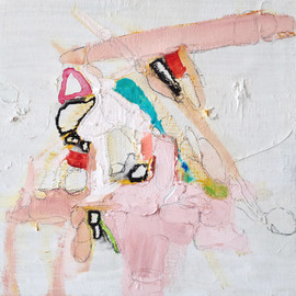Trisha Rhomberg - Fail Lick, 2013, oil on canvas