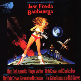 Jane Fonda - BARBARELLA OST  (LP)
