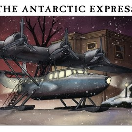 Kenneth Hite (著), Michelle Nephew (編集), Christina Rodriguez (イラスト)  - The Antarctic Express (Mini Mythos)