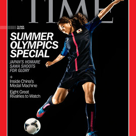 TIME MAGAZINE - JULY 30 - AUGUST 6. 2012