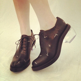 Patent Leather Brogue