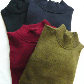 ANATOMICA - USN MOCK NECK SWEATER