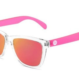 Sunski - Sunski Sunglasses Pink Originals Polarized Brown