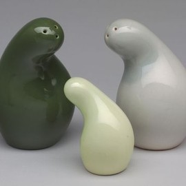 Eva Zeisel - Town and Country Salt and Pepper Shakers