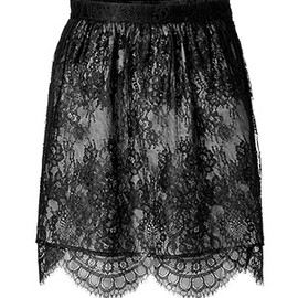 TIBI - imperial lace skirt
