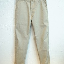 UNIVERSAL PRODUCTS - ORIGINAL TAPERED CHINO TROUSERS