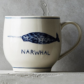 Molly Hatch - Narwhal Mug