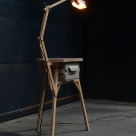 Jeroen Wand - Stool Light Dresser