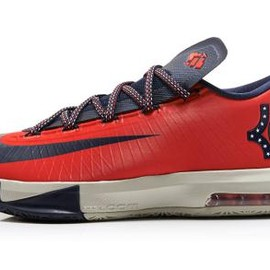 Nike - NIKE KD VI LIGHT CRIMSON/OBSIDIAN-LIGHT BEIGE CHALK-LIGHT LUCID GREEN