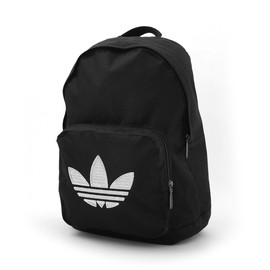 adidas originals - adidas WMN SY BACKPACK STAR (BLACK/METALLICSILVER)