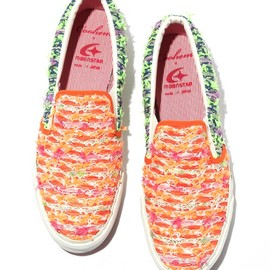 Coohem - FANCY NEON TWEED SHOES
