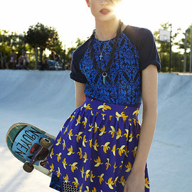 ELLE Hungary - Kate Kondas is a Skater Chick by Zoltan Tombor | EDITORIAL