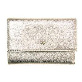 ANYA HINDMARCH - Small Trifold - Pale Gold