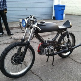 Puch - birdie / 1977 Pinto frame