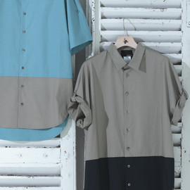 3.1 Phillip Lim - DOLMAN SLEEVES S/S SHIRT( Exclusive for Hankyu men's )